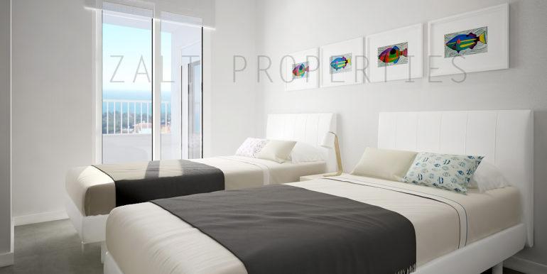 Dormitorio 2 camas (4).- Altos de Campoamor
